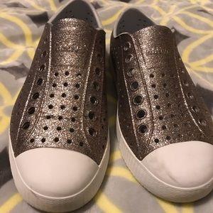 Native Jefferson bling sneakers